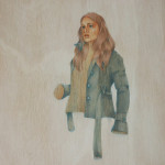 """""""Jacketed"""" by Joanne Madeley, 40*40cm, 2013, CDN"""
