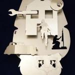"""Ozymandias"" by Georgios GreeKalogerakis, 55*93*13cm, 2014, UK"