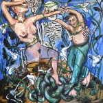"""""""Basil and Eve (me, the Muse, and Death)"""" by Basil Eliades, Australia"""