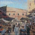 """Bazar""by Alexey Romanenko, Kazakhstan"