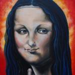 """The Holy Mona Lisa"" by Ermien Versteeg, NL"