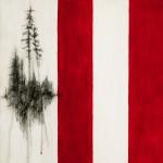 """Tree Grove and Buren Stripes"" by Rosanne Bennett, Canada"