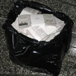 """""""A Lot of Money in a Black Plastic Bag (Worth its Weight vol.5)"""" by Riikka Aresalo, Finland"""