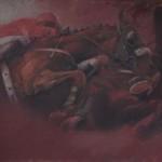 """Red Race"" by Natasha Kodela, Serbia"