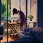 """""""Marie sur la terrasse"""" by Dorian Cohen, France"""