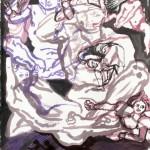 """""""inkdrawing 3"""" by Mariëtte Linders, NL"""
