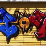 """POE - graffiti rug"" by Niina Mantsinen, Finland"