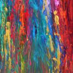 """Visit from D."" by Alexandra Marx, 70*100cm, 2015, DE"