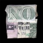 """""""No Future"""" by Dan Taque, 102*102cm, 2015, USA"""