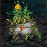 """Dandy Island"" by Ian Shatilla, 77*56cm, 2014, CDN"