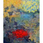 """""""Falling rocks"""" by Abdreas Krook, 150*110, 2014, SE"""