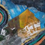 """""""no title"""" by Geertje van de Kamp, 125x120cm, 2014, NL"""