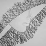 """""""Lady"""" by Pawel Jezak, 57*45cm, 2015, IRE"""