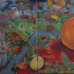 """Orange"" by Paraskevi, 50*50cm, 2014, GR"