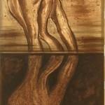 """RUSALKA 3"" by Markos Kampanis, 145*35*3cm, 2009, GR"