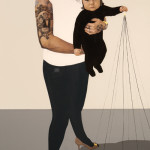 """Kitten"" by Tanmaya Bingham, 183*91cm, 2015, USA"