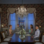 """""""The American Dream - Candle Dinner"""" by Bin Feng, 153*102cm, 2015, USA"""