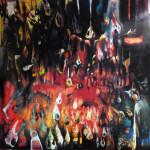 """""""Conto Spem Spero"""" by Sarah Valeri, 137*137cm, 2013, USA"""