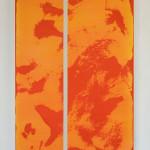 """""""Untitled (code 1413)"""" by Aimee Terburg, 100*70cm, 2014, NL"""