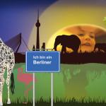 """""""Ich bin ein Berliner"""" by Dolf Pauw, 90*60cm, 2014, NL"""