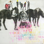 """""""Horse nut(anarchist granny)"""" by Pia Hentunen, 110*100cm, 2015, FI"""