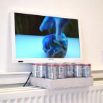 """potter"" by Martijn Grooten, 50*50*20cm, 2014, NL"