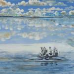 """The Planet"" by Kristiina Sario, 99*166cm, 2013, FIN"