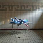 """Swim #1"" by Jeroen Arians, 40*40cm, 2013, NL"