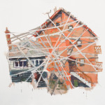 """Wrapped together"" by Zita David, 155*130cm, 2015, HU"